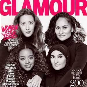 glamourmag Women of the Year cover amp spread Makeup forhellip