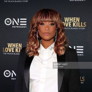 Tami Roman at the  When Love Kills premiere Makehellip