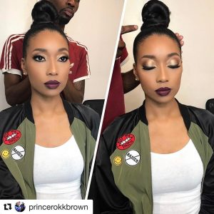 Repost princerokkbrown with repostapp  My take on keannanicole Greenhellip