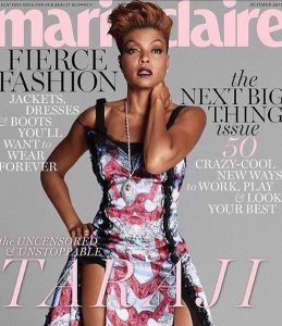 Taraji P Henson graces the October issue of Marie Clairehellip