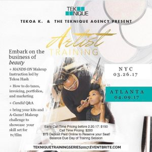 Calling All Artist Teknique is Hosting an Artist Training sessionhellip