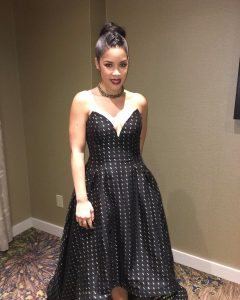 The beautiful Alison Threadgill for the naacpimageawards Hair by kymmscreationshellip