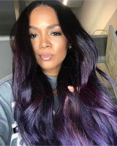 Repost glamourhead  Purple Haze Custom Violet Colored Full Unithellip